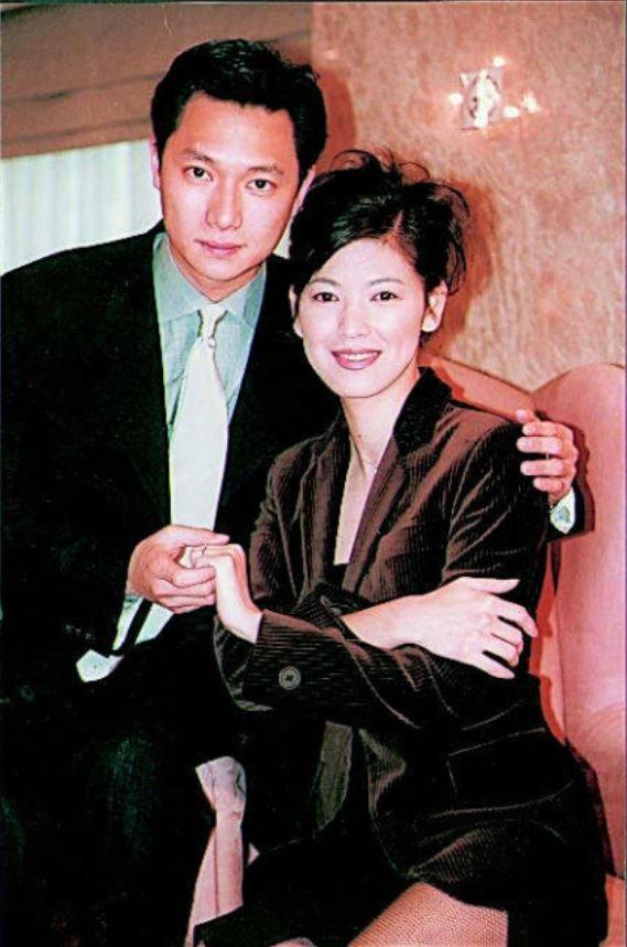 台灣靈異事件男女主角,謝祖武(左)、陳明真(右) 圖片來源/聯合報系