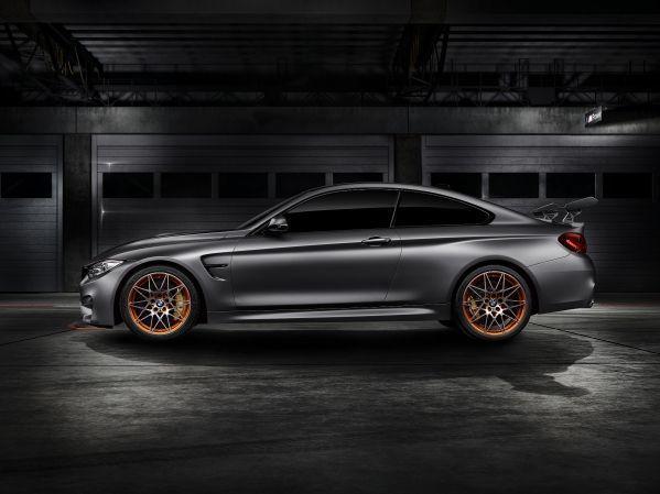 BMW Concept M4 GTS 概念跑車是以BMW M4 Coupe為基礎...