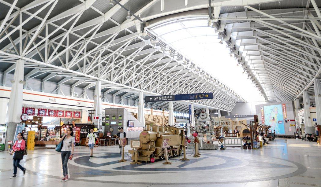 台鐵新烏日站與高鐵台中站共構,如何將人潮轉化成商機,或是有更好的運用價值考驗公務...