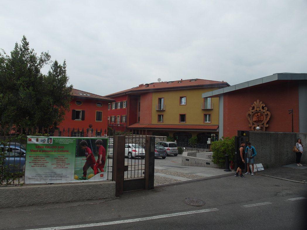 「崔斯特」(Oliver Twist)職訓學校外觀。 記者李昭安/義大利攝影