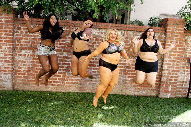 不論身材好壞,女人都應勇敢穿上比基尼,以展示自己的身體為傲。圖/達志影像
