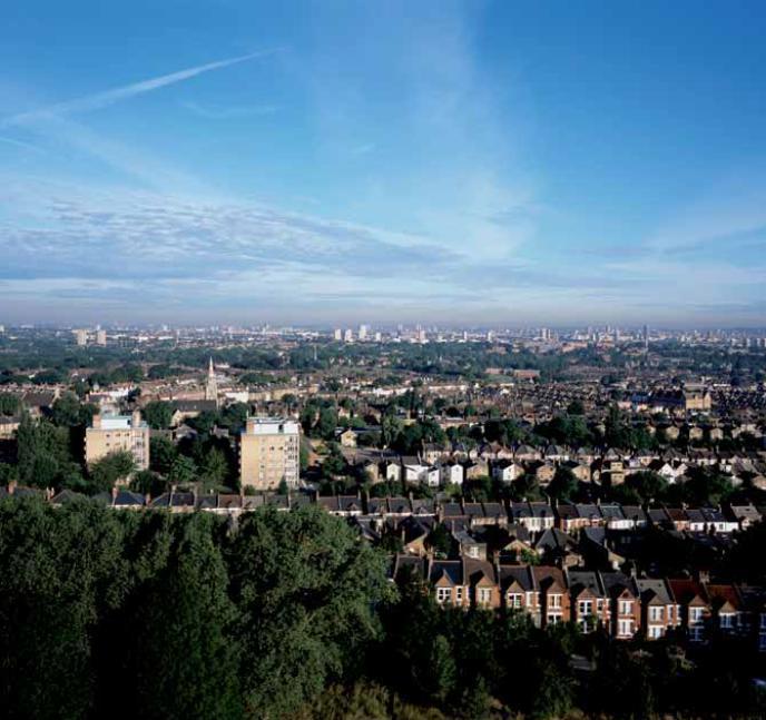 倫敦加強綠色基盤與公共空間的連結以方便大眾親近,更提出綠網構想。 圖擷自 All...