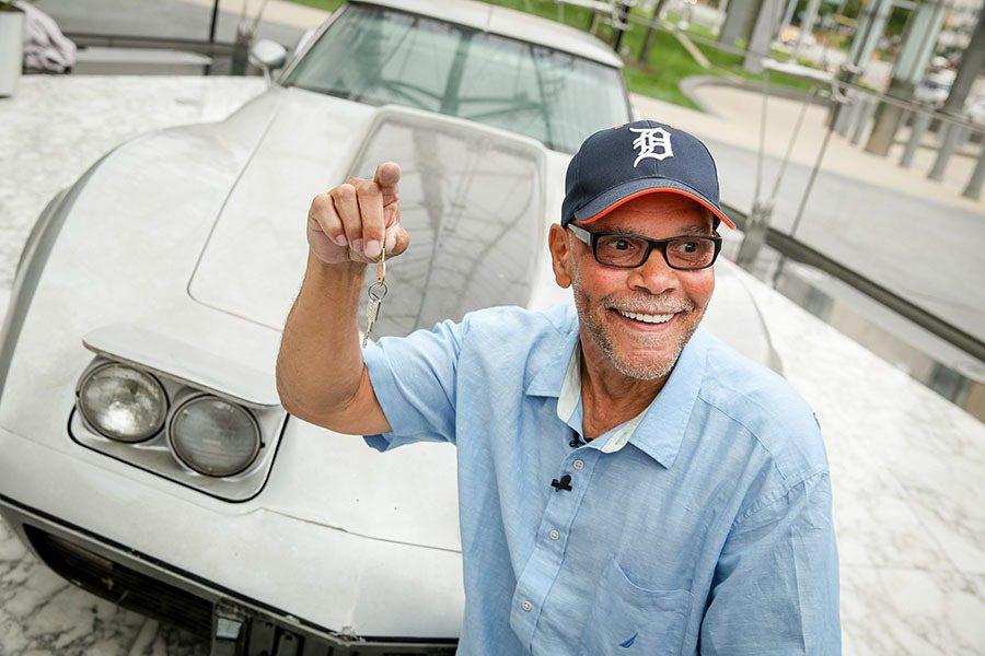George Talley去年終於與失竊多年的愛車見面了。 GM汽車提供