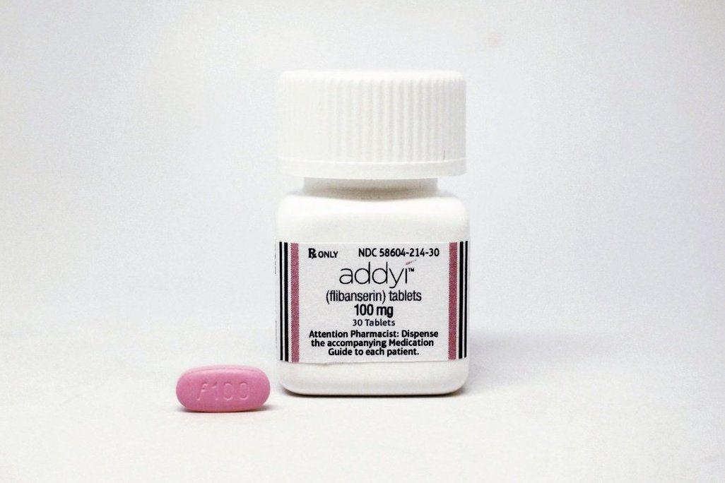 粉紅小藥丸 Addyi。 (路透)