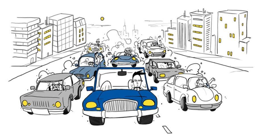開車上路安全最重要,所有在路上遇到的不愉快都只是生命中的一瞬間。 摘自lse.a...