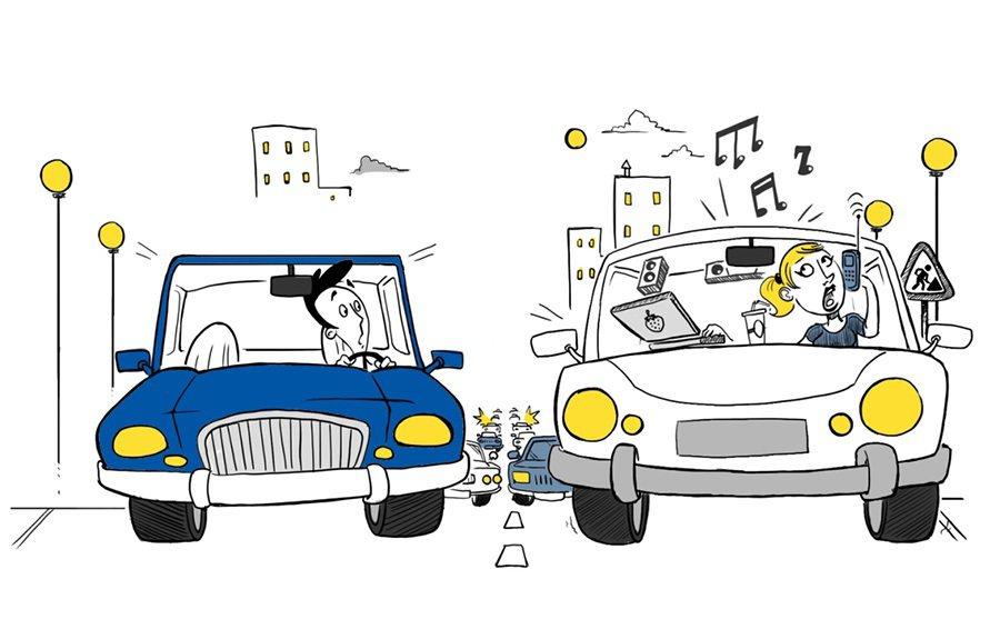 逃離現實型駕駛。 摘自lse.ac.uk