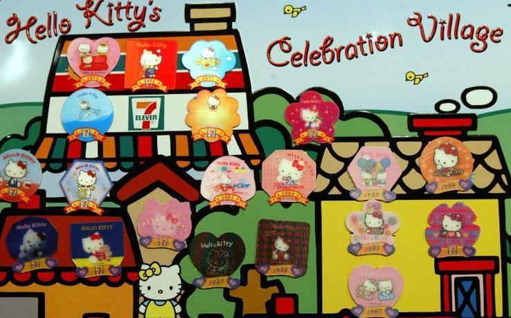 7-11的Kitty磁鐵,是許多台灣人的共同回憶/聯合報系