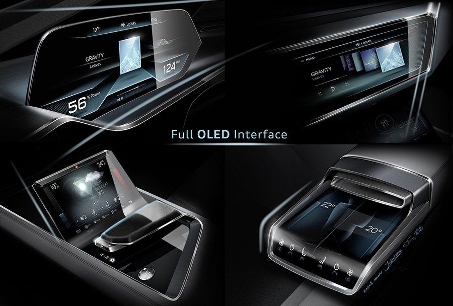 車身尺碼則介於Audi Q5和Q7車系之間, SUV外觀造型融合Coupé跑車般...