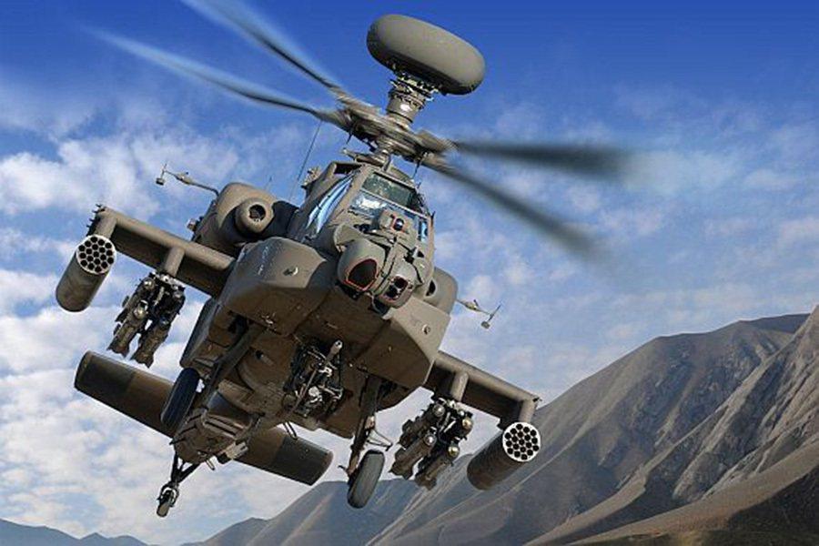 阿帕契是世界上攻擊性最強、配備最先進的攻擊性直升機。 摘自militaryfac...