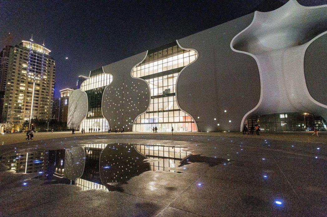 台中歌劇院。 記者黃士航/攝影