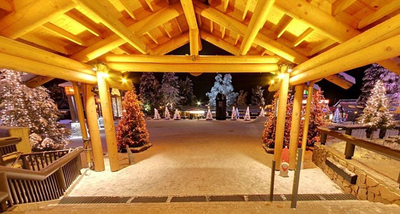 芬蘭著名景點聖誕老人村全年無休。(取材自英國每日郵報)