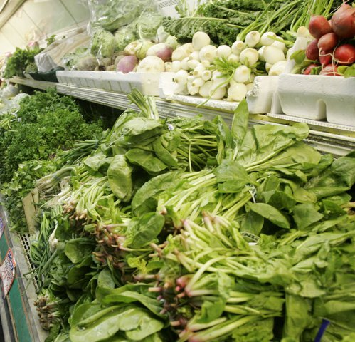 菠菜。 (美聯社)