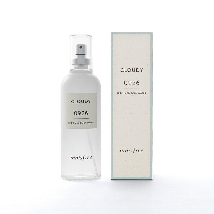 innisfree身體純粹香頌「雲彩朵朵」加入棉花與檸檬、玫瑰、琥珀香氣、630...