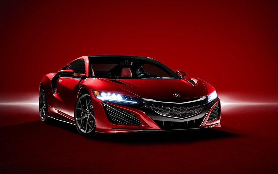 新世代NSX超跑的體型比第一代車款壯碩許多。 Acura提供
