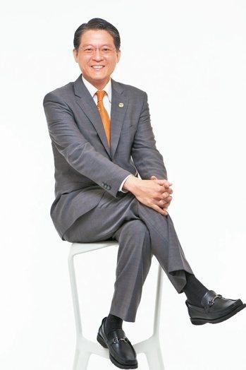 台灣房屋集團副總裁周鶴鳴 報系資料照