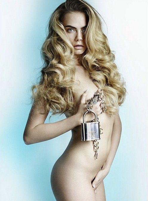 卡拉迪樂芬妮以三點不露的方式登上 Allure 雜誌,這組拍攝由時尚攝影大師 M...