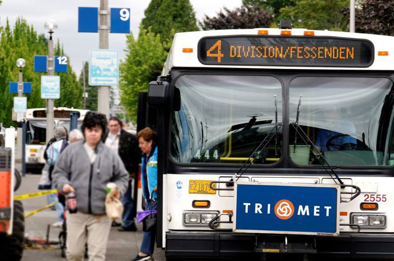 每位大眾運輸乘客都是步行者。 圖擷自Facebook: Trimet