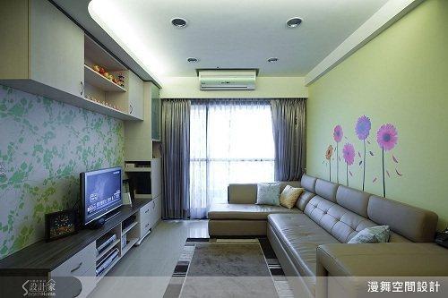 以簡潔俐落的現代風格,結合輕裝修設計概念,量身打造溫馨宅居。 圖片提供_漫舞空間...