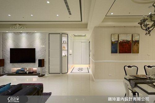 黑與白為譜曲,簡化新古典風格的繁複華麗,同時滿足所有家庭成員的願望,讓居家空間不...