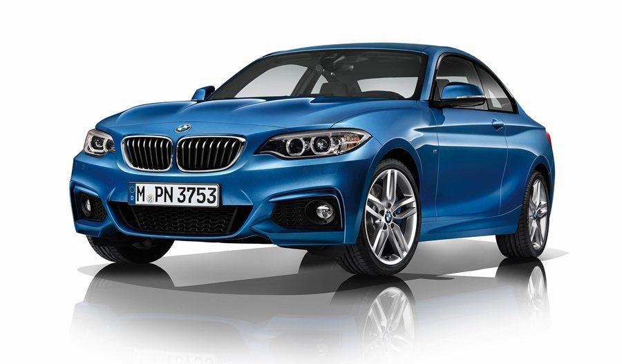 BMW_220i雙門跑車即日推出升級M Sport Package優惠專案。 圖/BMW提供