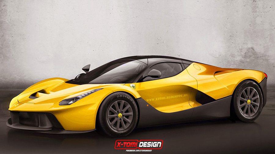 Ferrari LaFerrari 摘自xtomi.blogspot