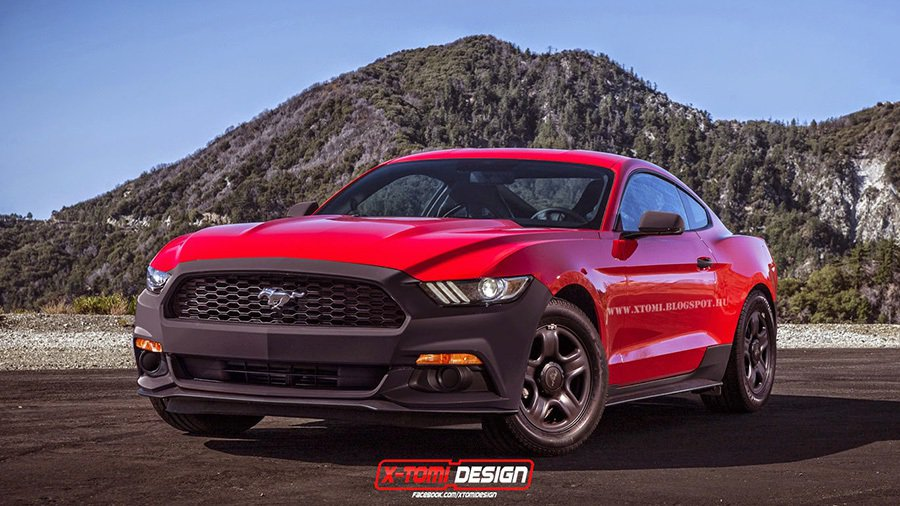 Ford Mustang Coupe 摘自xtomi.blogspot