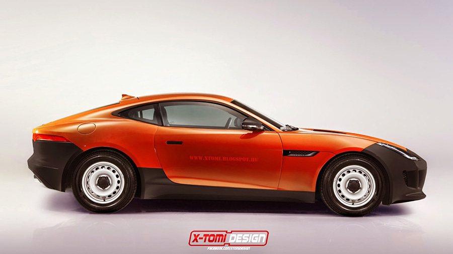 Jaguar F-Type Coupe 摘自xtomi.blogspot