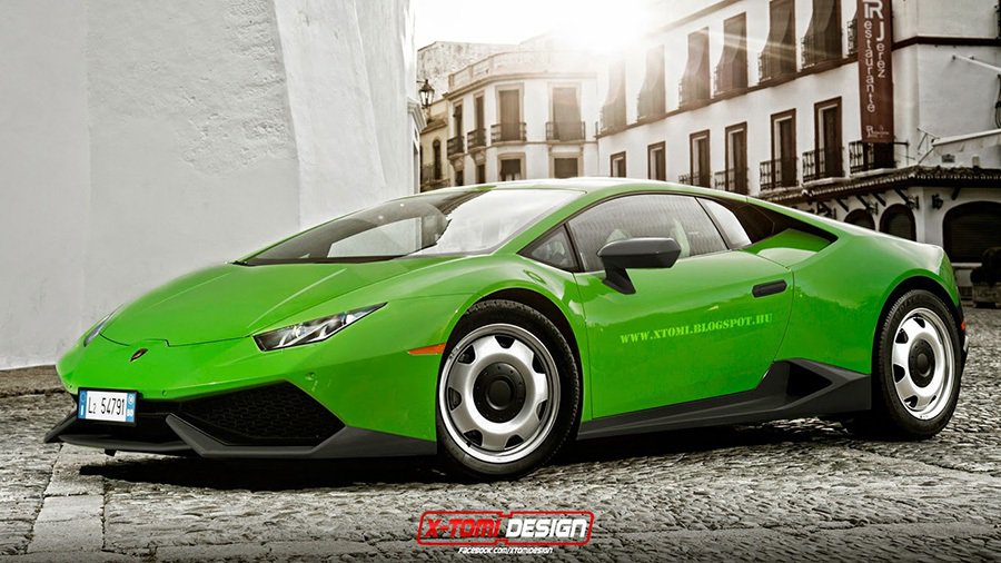 Lamborghini Huracan LP 610-4 摘自xtomi.blogspot