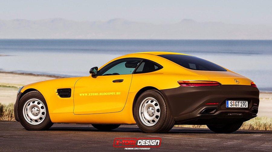 Mercedes-Benz AMG GT 摘自xtomi.blogspot