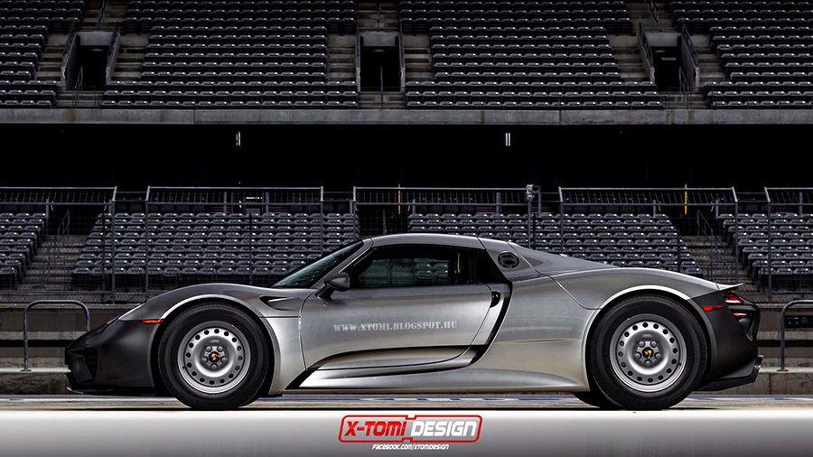 Porsche 918 Spyder 摘自xtomi.blogspot