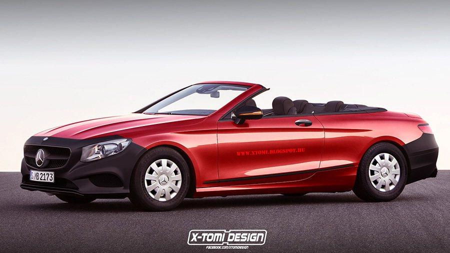 Mercedes S-Class Cabrio 摘自xtomi.blogspot