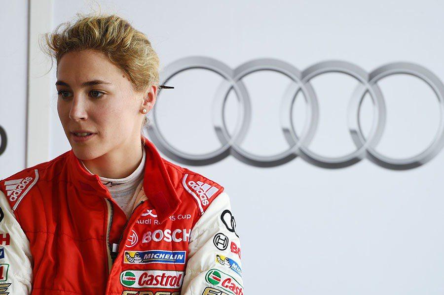 瑞士GT女將Rahel Frey目前積分排名為第五,預計也將在本週末回歸Audi...
