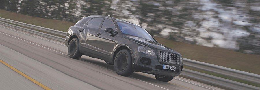 9月4日賓利官釋出最新的新車測試影片,片中展示全新Bentayga休旅車進行性能極速測試的結果,原廠宣稱Bentayga是目前全世界跑最快的SUV。 圖/Bentley提供