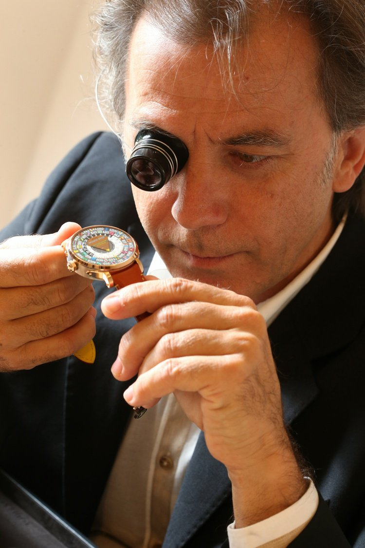 LV首席製表師Michel Navas。圖片/Louis Vuitton提供