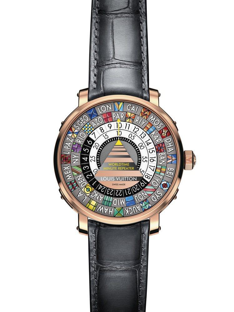 詢問度最高的Escale Worldtime Minute Repeater腕表...