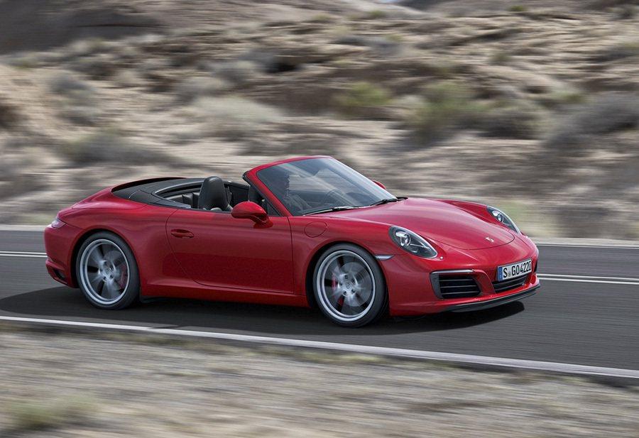 重新設計的 PASM 底盤可將車身高度降低10公釐。 Porsche提供