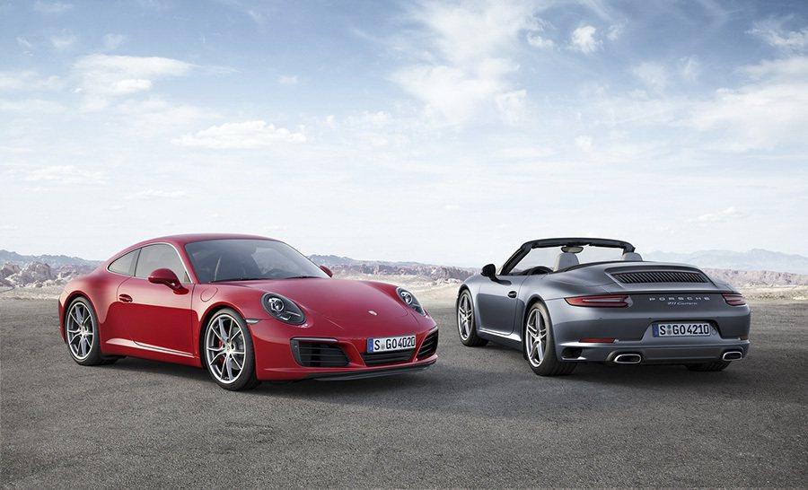 改款911 Carrera搭載全新引擎與更進化的底盤。 Porsche提供