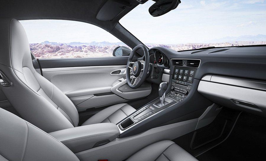內裝更換上全新的資訊娛樂系統。 Porsche提供