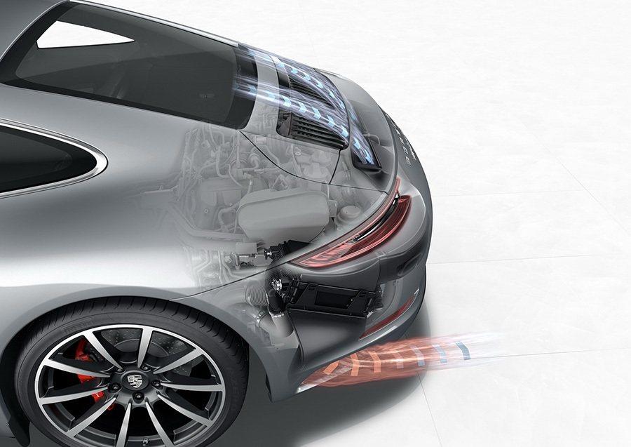 新一代引擎的效率幾乎可提高 12% 之多。 Porsche提供