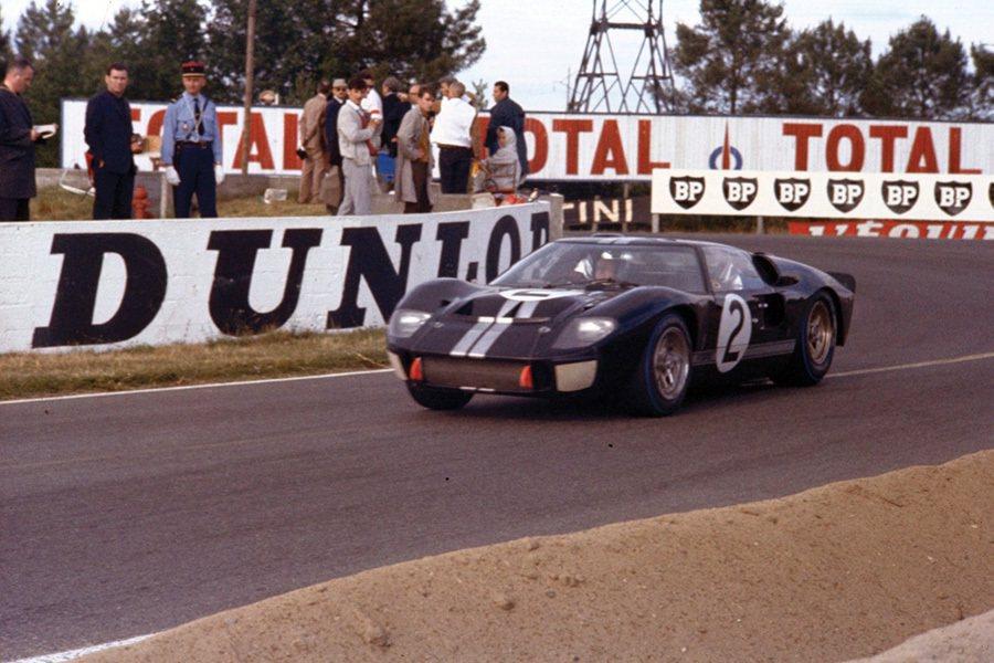 擊敗法拉利的Ford GT40賽車。 Ford提供