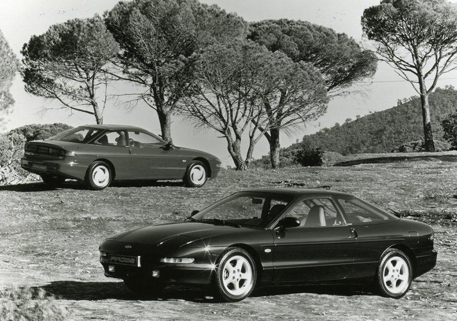 1989年式 Ford Probe轎跑車。 Ford提供