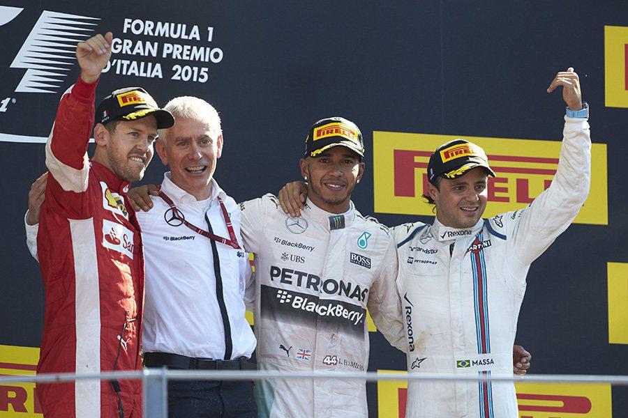 揚威義大利Monza賽道,Mercedes-AMG PETRONAS第10勝入袋...