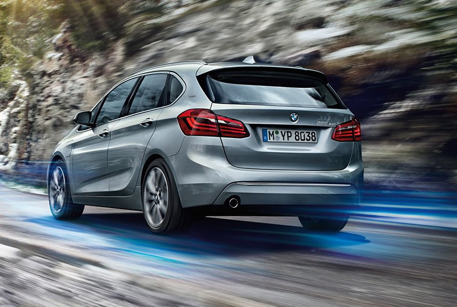 225xe的0至每小時96公里加速僅需6.7秒,性能比大部份轎車還強。 BMW提供