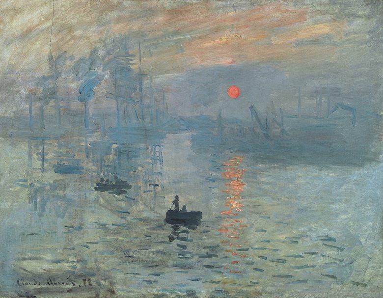 Claude Monet, Impression, soleil levant,...
