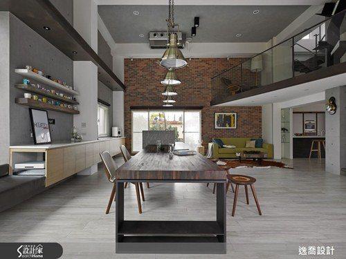 四層樓的宅邸當中,每一層空間都有不同的驚喜,卻又能形成巧妙和諧的共鳴! 圖片提供...