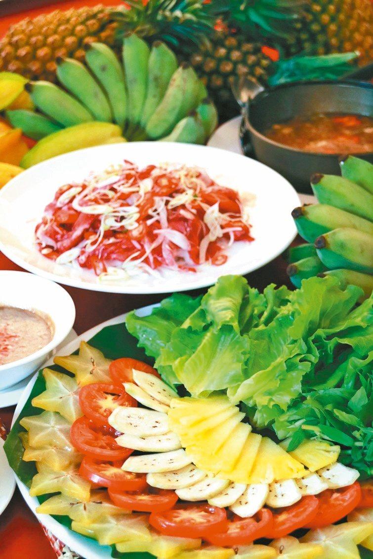 銘記越南美食也有用料繁複的火鍋料理。 記者邱奕寧/攝影