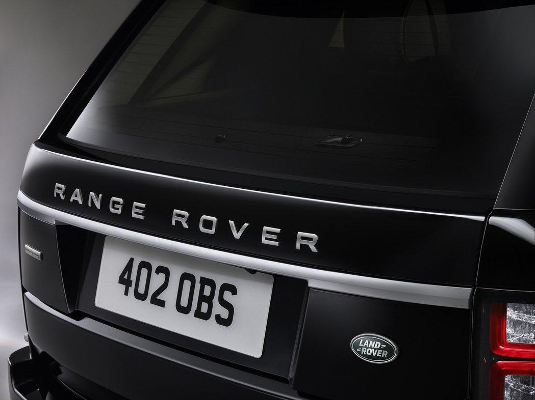 車尾門具有緊急逃生系統。 圖/Land Rover提供