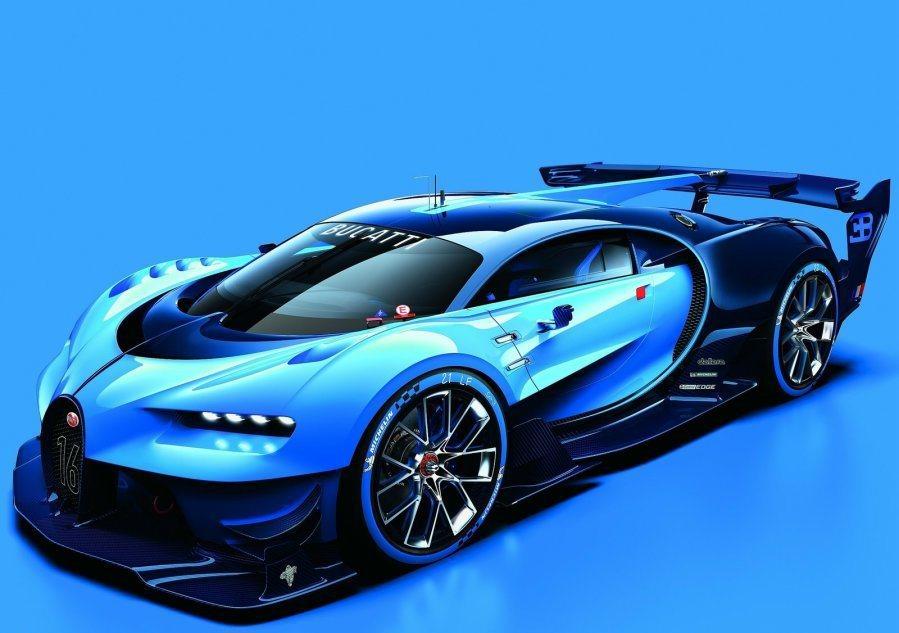 這部Bugatti全新GT概念跑車,整體外型與Veyron輪廓相似,但原廠仍針對部分進行修飾。 摘自Bugatti