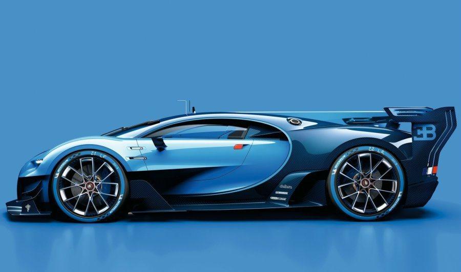 車側則以多層次線條點綴,打造立體感十足的車身輪廓。 摘自Bugatti