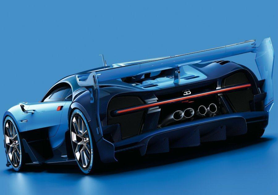 原廠也透露Bugatti Vision Gran Turismo concept 1:1模型也將在法蘭克福車展登場。 摘自Bugatti